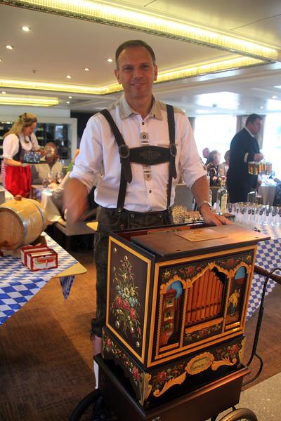 Viking River Cruise, German Night, Music Box