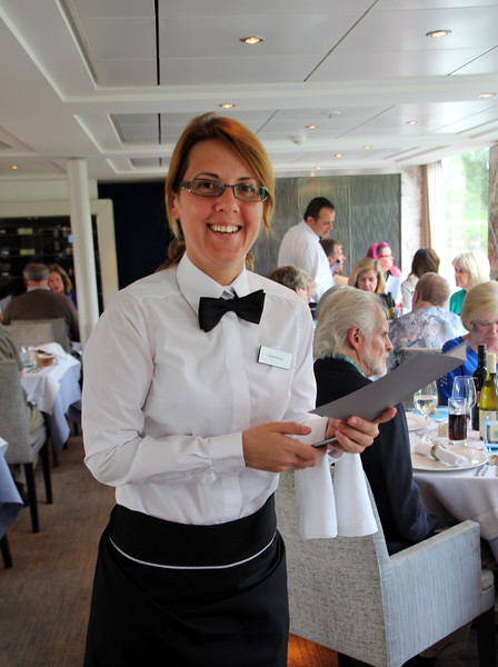 Viking River Cruise, Gracious Server