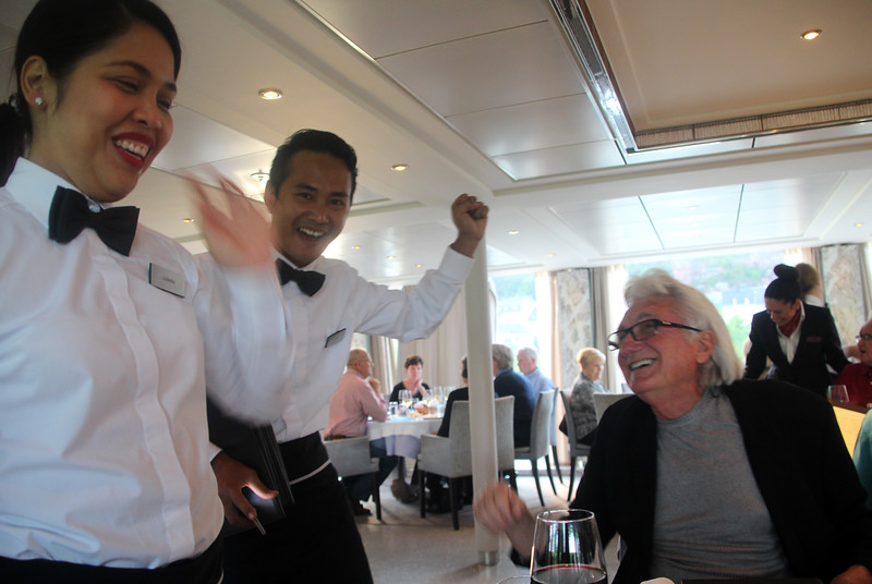 Viking Cruise, Happy Moment with Staff