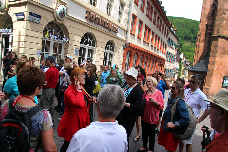 Heidelberg Germany, Tour Guide with Viking Group