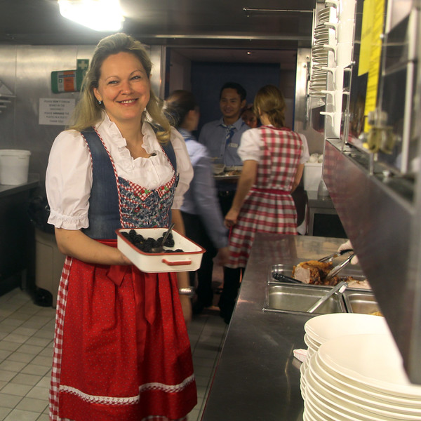 Viking River Cruise, Behind the Scenes in the Viking Kitchen