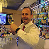 Viking River Cruise, Bartender with Local Riesling