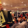 Viking River Cruise, Accordionist