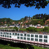 Viking River Cruise, Panorama, Viking IDUN docked in Trier