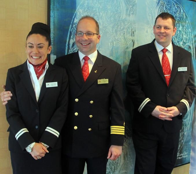 Viking River Cruise, Captain & Crew