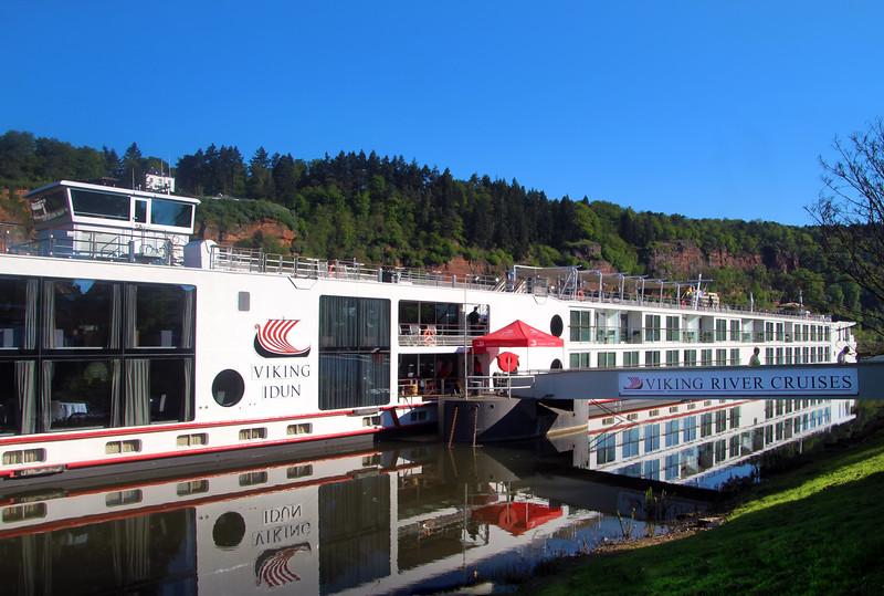 Viking River Cruise, Idun docked in Trier