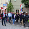 Viking River Cruise, Leading Group through Rothenburg ob der Tauber
