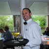 Viking River Cruise, Smiling Wine Server