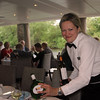 Viking River Cruise, Smiling Server Pouring Wine