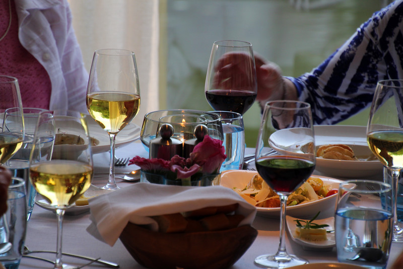 Viking Cruise, Outstanding Wines Served at Lunch and Dinner