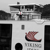 Viking River Cruise, Captain on Deck