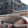 Trier Germany, Concert beneath the Porta Nigra