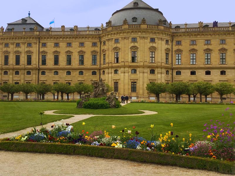 Würzburg Germany, Bishops' Residenz, Gardens