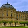 Würzburg Germany, Bishops' Residenz Exterior from Garden