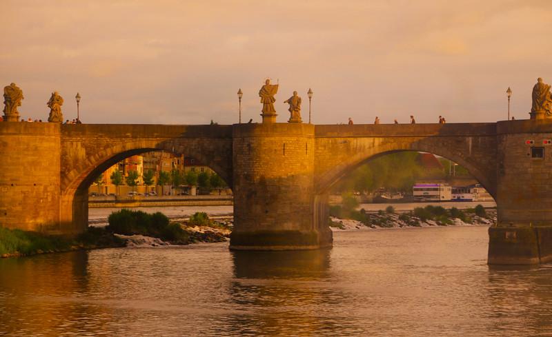 Wurzburg  Germany, Old Main Bridge