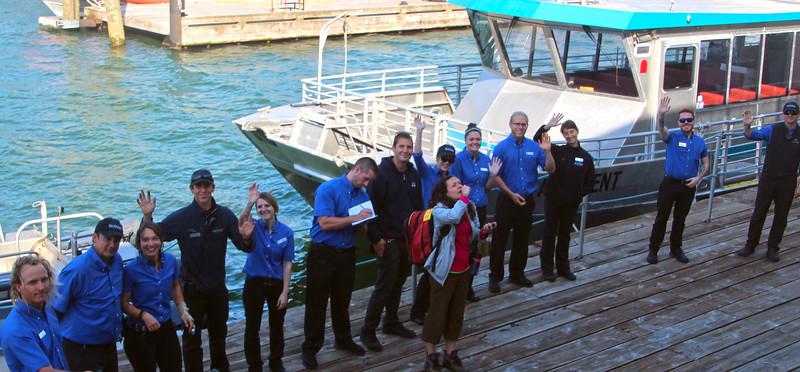 Un-Cruise Adventures,  Crew Goodbye