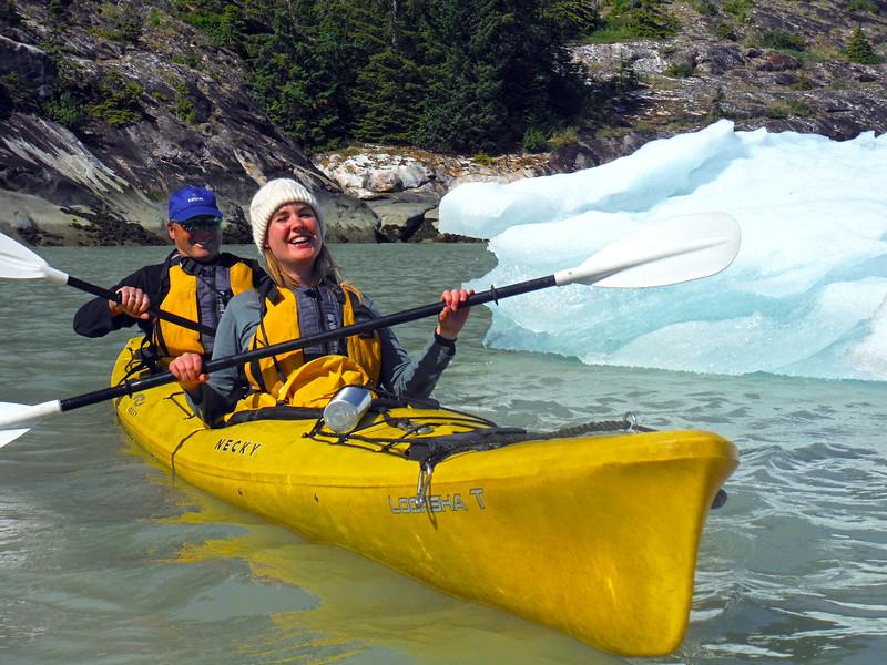 Kayaking Among Ice Floes