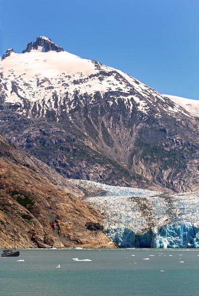 Un-Cruise Adventures, Dawes Glacier and Peak