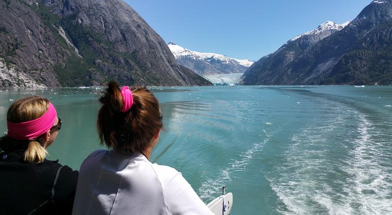 Un-Cruise Adventures,  Endicott Arm, Approach to Dawes Glacier