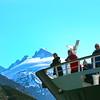 Un-Cruise Adventures,  Passengers Viewing  Glacier From Deck, Dawes Glacier