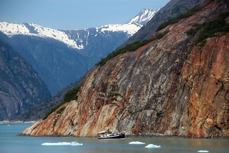 Un-Cruise Adventures, Fishing Boat, Endicott Arm