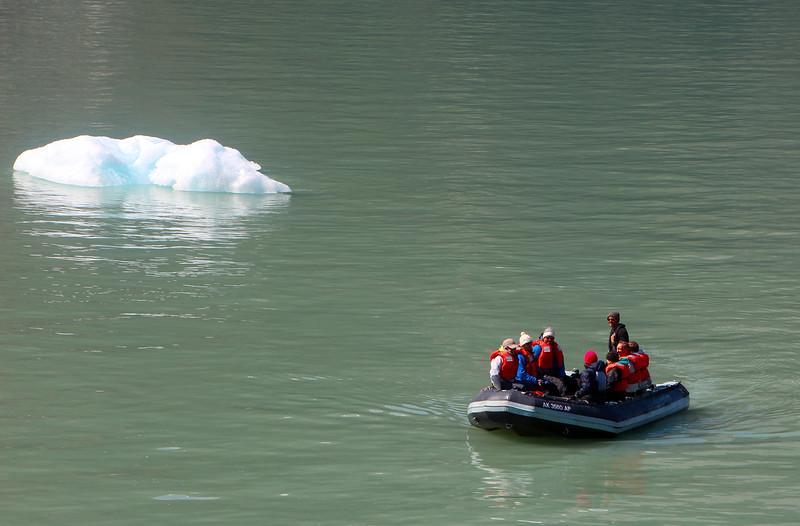 Un-Cruise Adventures,  Skiff Exploration, Dawes Glacier