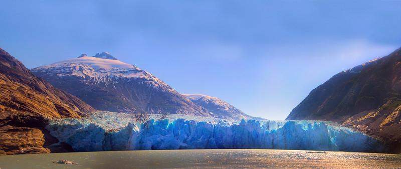 Un-Cruise Adventures, Panorama, Dawes Glacier