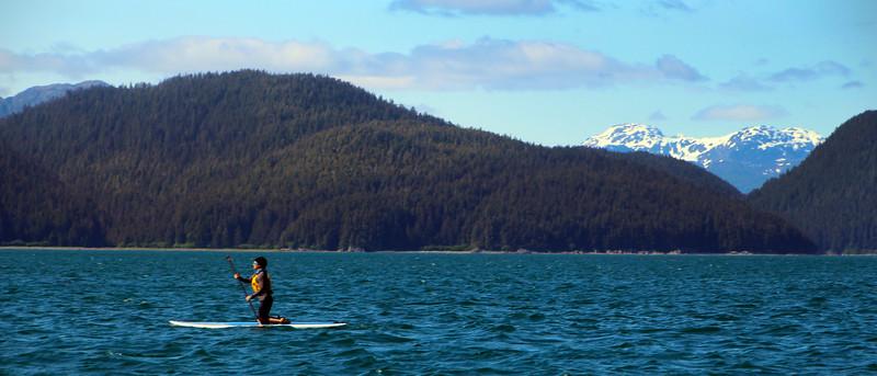 Un-Cruise Adventures, Kayaking in Idaho Inlet