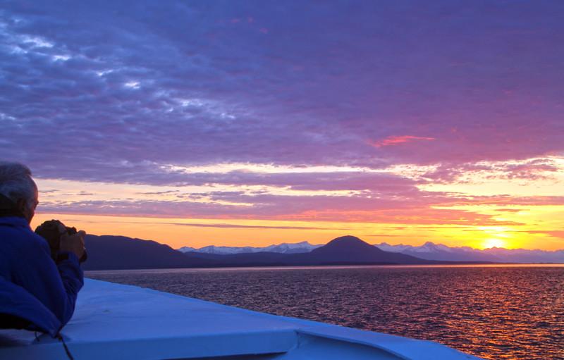 Un-Cruise Adventures, Sunset View,  Icy Strait