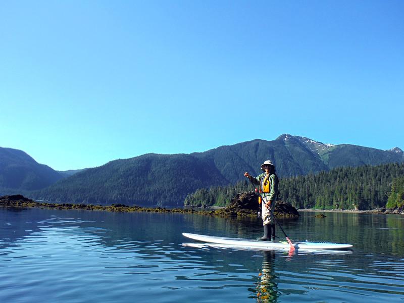 Un-Cruise Adventures, Paddle Boarder, Endicott Arm