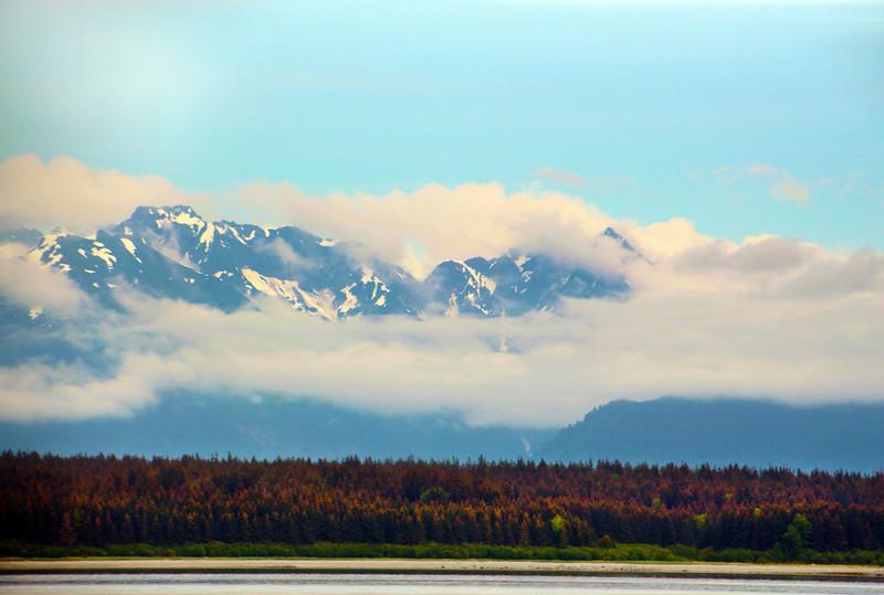 Un-Cruise Adventures, View on Fairweather Mountains