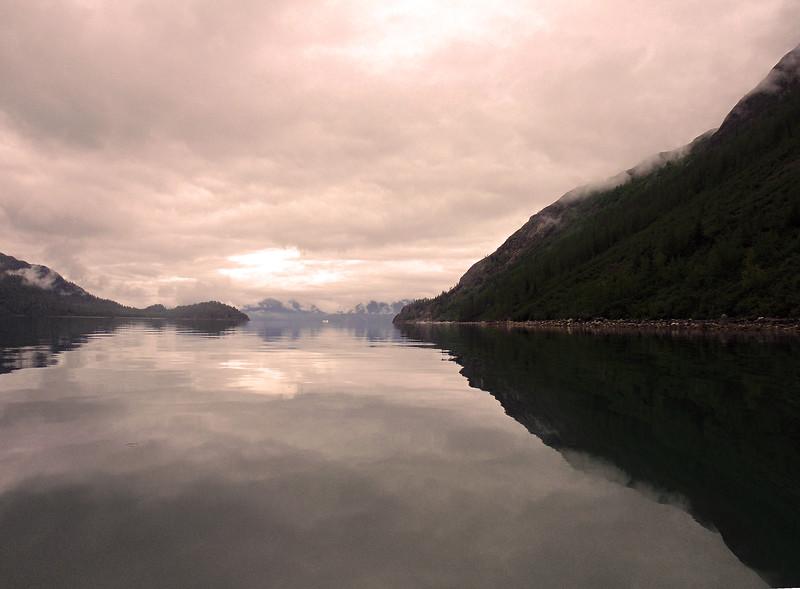Un-Cruise Adventures, Glacier Bay National Park, Cloud Reflections in Bay