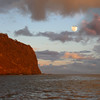 Hawaii, UnCruise Adventures, Full Moon Over Lanai