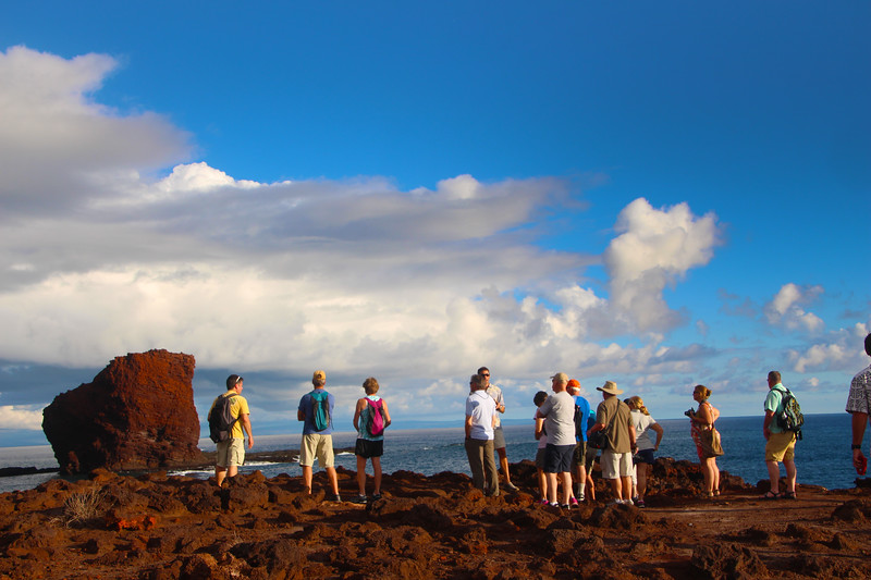Hawaii, UnCruise Adventures, Red Rock, Lanai