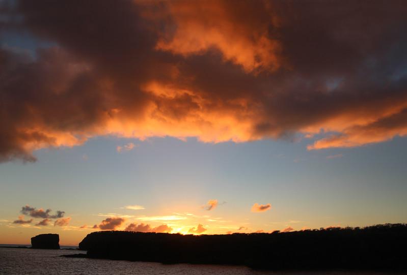 Hawaii, UnCruise Adventures, Sunset Clouds, Lanai