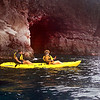 Hawaii, UnCruise Adventures, Kayaking past Sea Caves, Maui