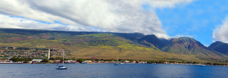 Hawaii, UnCruise Adventures, Panorama, Lahaina, Maui