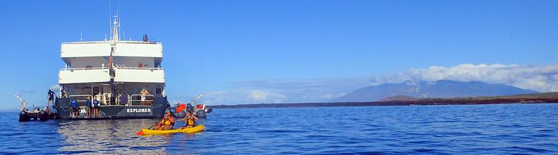 Hawaii, UnCruise Adventures, Kayaking, Safari Explorer