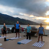 Hawaii, UnCruise Adventures, Morning Yoga Class