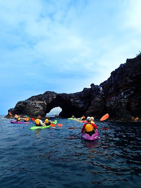 Hawaii, UnCruise Adventures, Kayaking, The Big Island, Opihihale