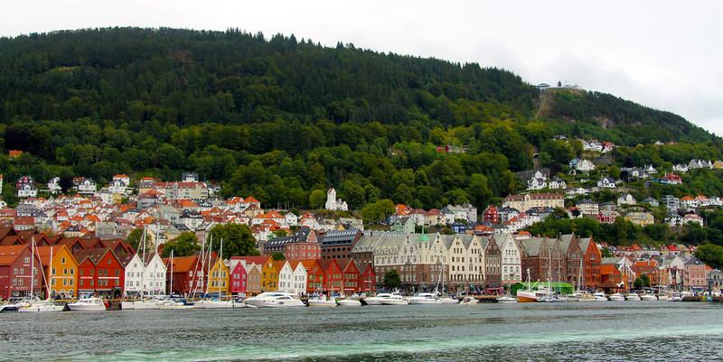 Bergen, Norway Embarkation
