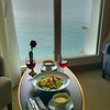 In-room Dining with View on Corfu, Greece
