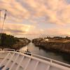 Windstar Cruise's Star Legend Traverses Greece's Historic Corinth Canal