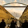 Windstar Cruises Star Legend Crosses the Corinth Canal VIDEO