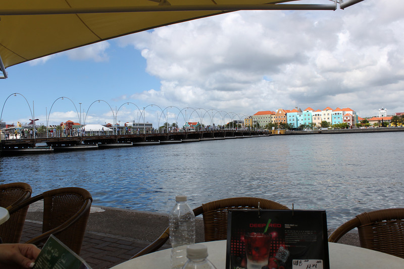 Iguana Cafe in Curacao. Nice twist on chicken wings (not buffalo, but VERY tasty)!