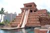 Mayan Temple Water Slide at Atlantis