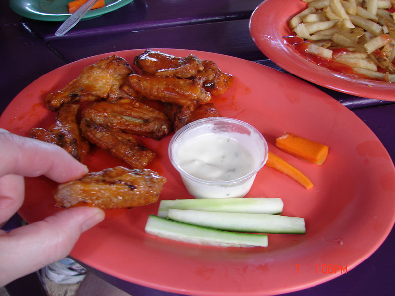 The SMALLEST wings I have ever been served!