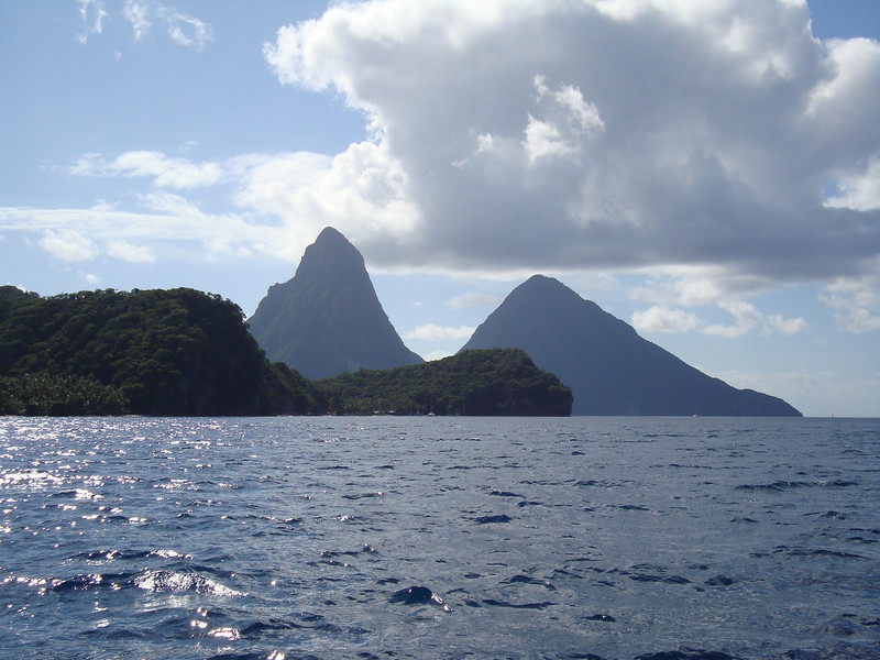 The Pitons - St. Lucia