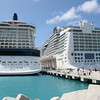 The Eclipse and Epic... side by side in St. Maarten --- both GREAT ships!!!