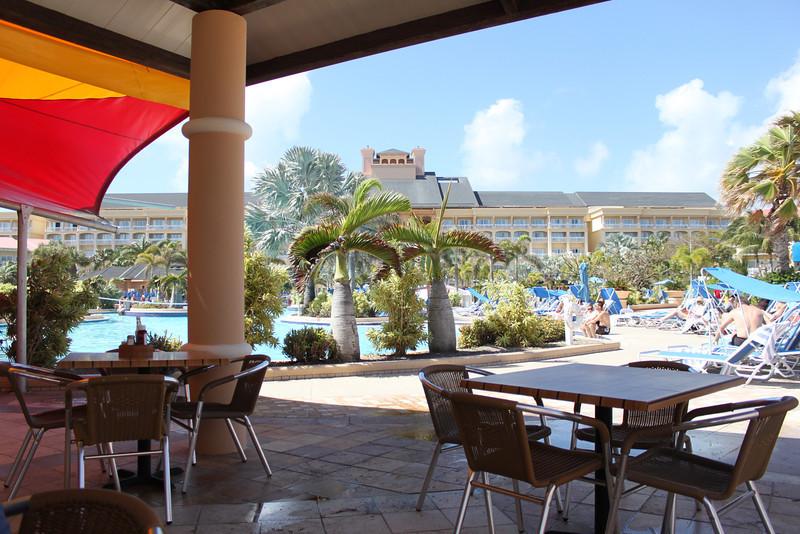 Marriott at St. Kitts.